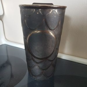 Starbucks Mermaid Dragon Scale ceramic travel mug